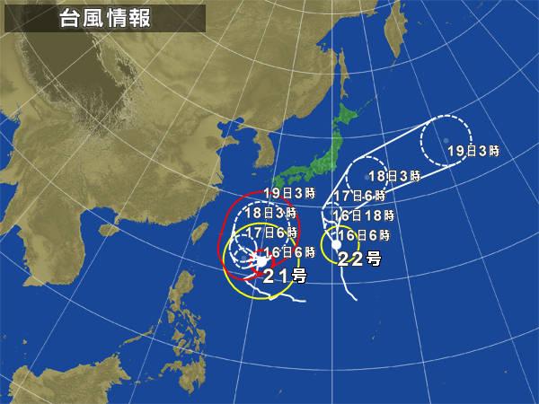 んっ! あの台風がこっちにくる!? 【カジキ・マグロトローリング】_f0009039_9165553.jpg
