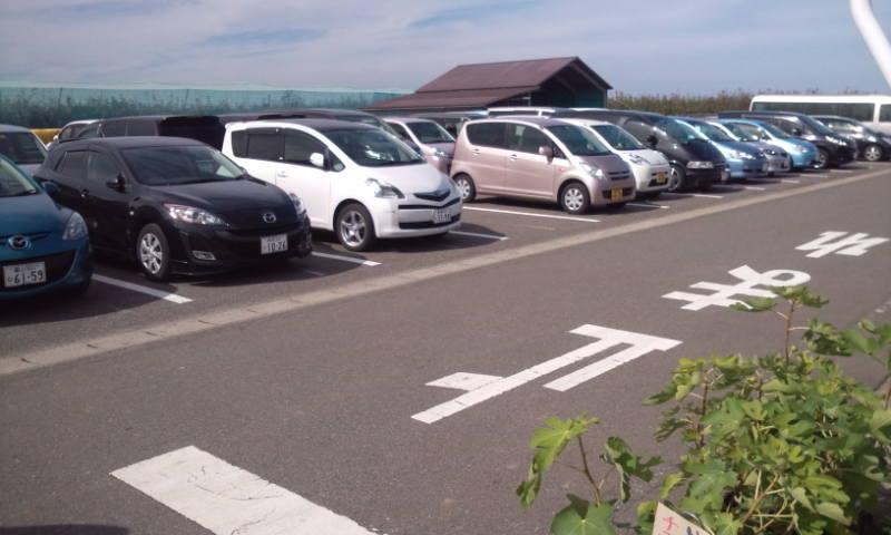 駐車場_a0232051_6582272.jpg