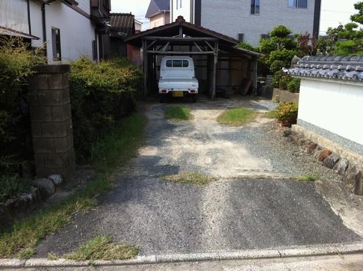 駐車場・フェンス工事_e0268569_1643220.jpg