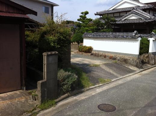 駐車場・フェンス工事_e0268569_16432396.jpg