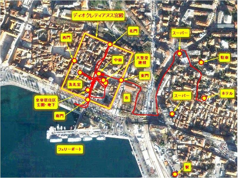 中欧家族旅行2012年08月-第四日目-スプリット・ディオクレティアヌス宮殿散策(II)_c0153302_15313578.jpg