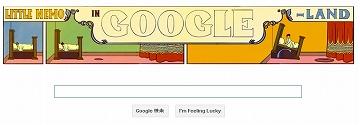 日々徒然-歳時記-Googleの遊び心_121015_「夢の国のリトル・ニモ」出版107周年_c0153302_7274093.jpg