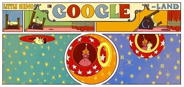 日々徒然-歳時記-Googleの遊び心_121015_「夢の国のリトル・ニモ」出版107周年_c0153302_7281967.jpg