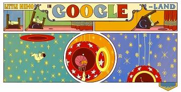 日々徒然-歳時記-Googleの遊び心_121015_「夢の国のリトル・ニモ」出版107周年_c0153302_7283451.jpg