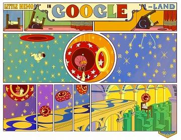 日々徒然-歳時記-Googleの遊び心_121015_「夢の国のリトル・ニモ」出版107周年_c0153302_7285844.jpg
