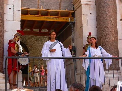 中欧家族旅行2012年08月-第四日目-スプリット・ディオクレティアヌス宮殿散策(II)_c0153302_8331210.jpg