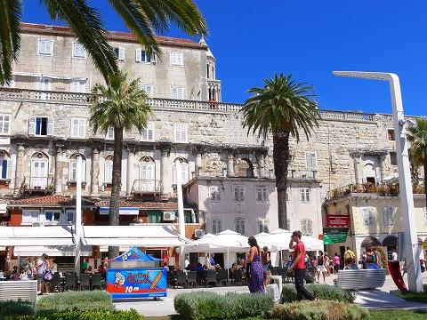 中欧家族旅行2012年08月-第四日目-スプリット・ディオクレティアヌス宮殿散策(II)_c0153302_8514498.jpg