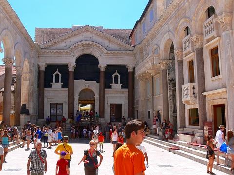 中欧家族旅行2012年08月-第四日目-スプリット・ディオクレティアヌス宮殿散策(II)_c0153302_945398.jpg