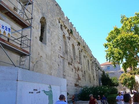 中欧家族旅行2012年08月-第四日目-スプリット・ディオクレティアヌス宮殿散策(II)_c0153302_964444.jpg