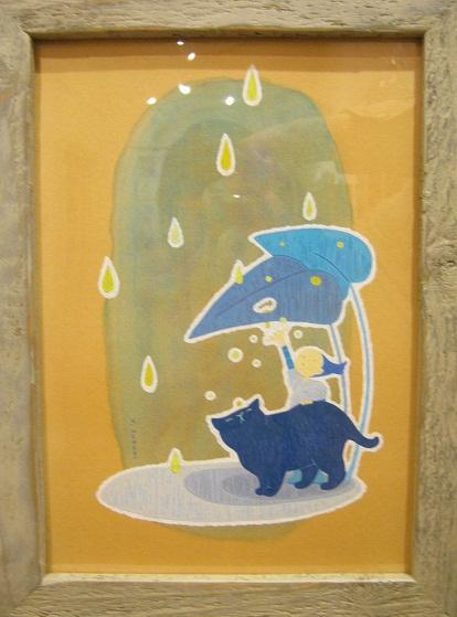 たまごくんたちてん    壁面展示「ヒツジと絵の具」スズキ ユウコ_e0134502_0513115.jpg