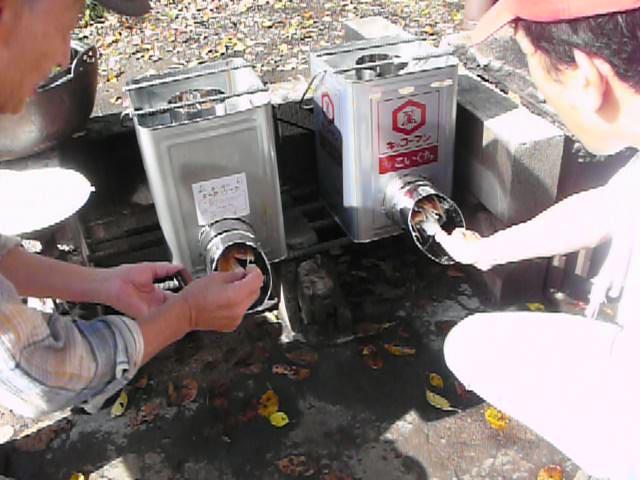 10月7日(日)ロケットストーブ製作ワークショップを開きました_f0205929_13274857.jpg