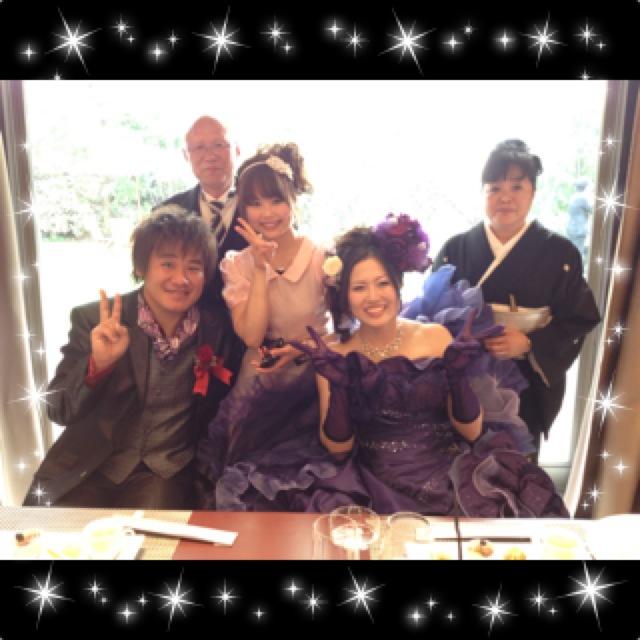 お姉ちゃんの結婚式☆彡_a0258349_103318.jpg