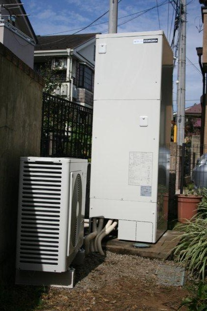 Panasonic太陽光発電とCORONAエコキュート1(小平市)_e0207151_20325352.jpg