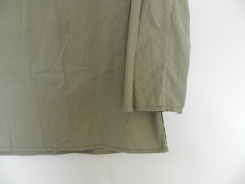 Linen grand-pa shirts over dyed with vintage gray_f0226051_11463572.jpg