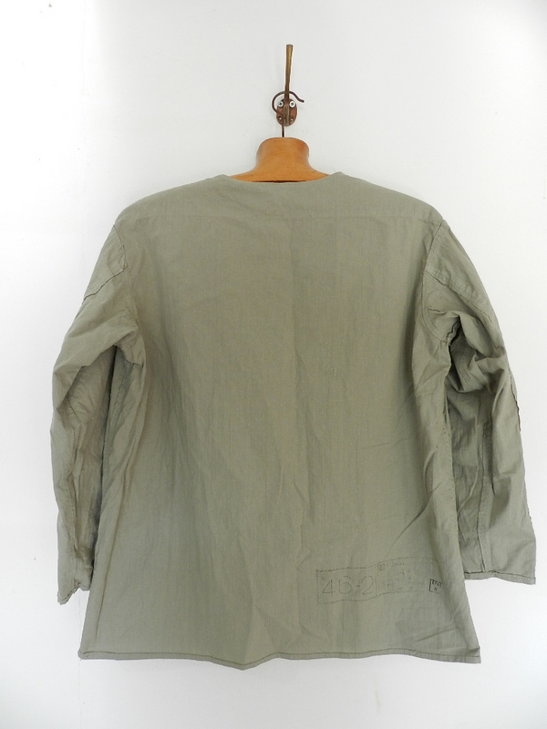 Linen grand-pa shirts over dyed with vintage gray_f0226051_114704.jpg