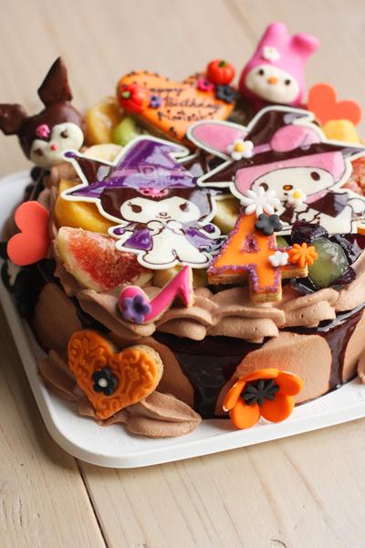 マイメロちゃんとくろみちゃんのお誕生日ケーキ_f0149855_1728346.jpg