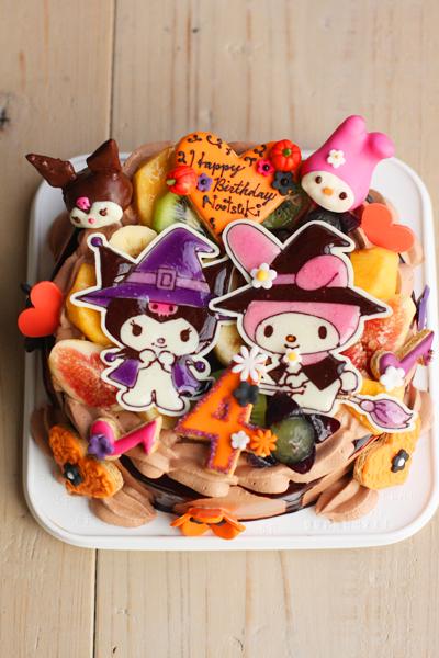 マイメロちゃんとくろみちゃんのお誕生日ケーキ_f0149855_1728686.jpg