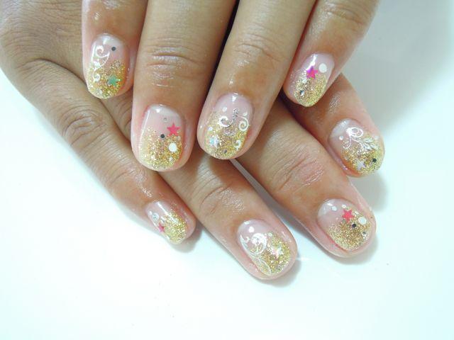 Gold Nail_a0239065_13222552.jpg