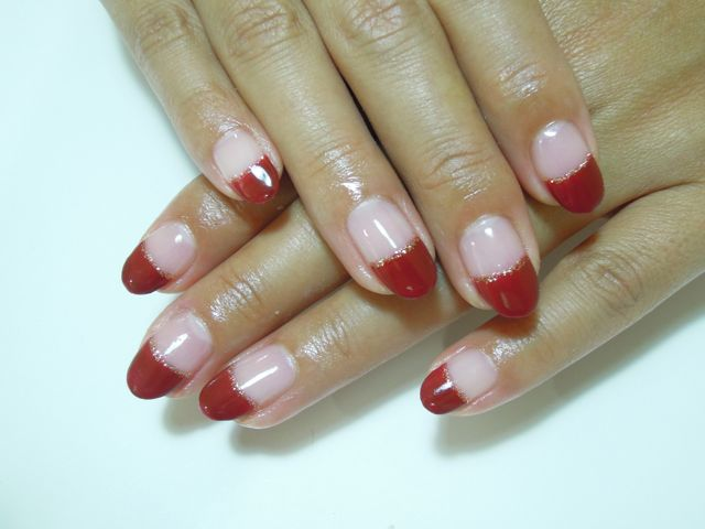 Wine Red Nail_a0239065_13261899.jpg
