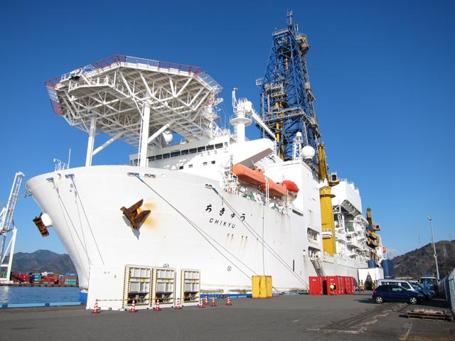 全日本模型ホビーショー2012レポート 深海掘削船「ちきゅう」編_c0166765_1953445.jpg