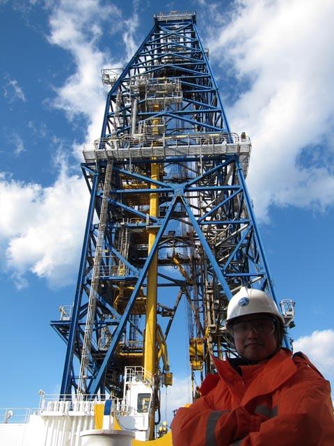 全日本模型ホビーショー2012レポート 深海掘削船「ちきゅう」編_c0166765_2035187.jpg