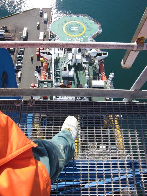 全日本模型ホビーショー2012レポート 深海掘削船「ちきゅう」編_c0166765_207534.jpg