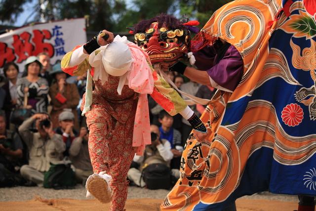 白川郷 白川八幡宮のどぶろく祭り その1_c0196076_20393575.jpg