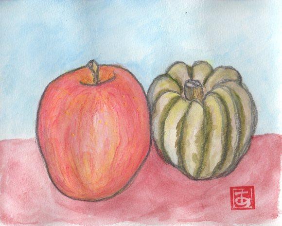 会津のリンゴ_e0232277_10233388.jpg