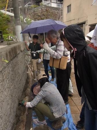 別府石の石積みワークショップ 1日目_e0251278_17554294.jpg