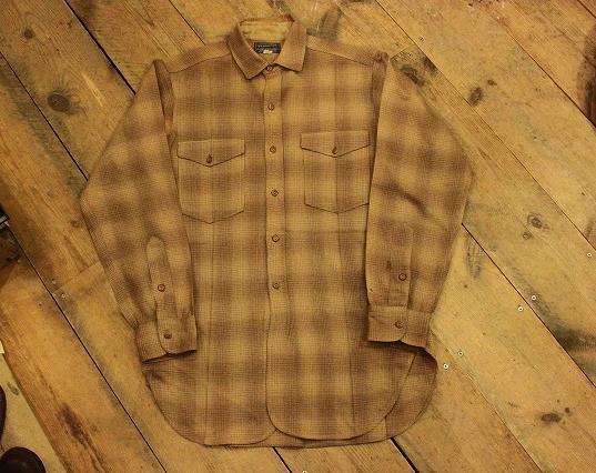 1930's PENDLETONウールシャツ。_d0121303_1950613.jpg