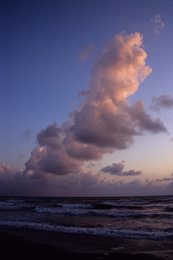 夕陽の海を…_b0259218_117024.jpg