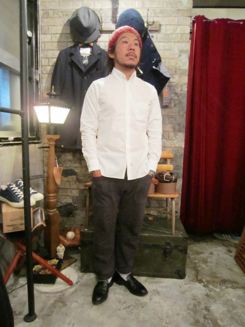 "ANACHRONORM ""B.D Shirts & SWEATER\"" ご紹介_f0191324_12315772.jpg"