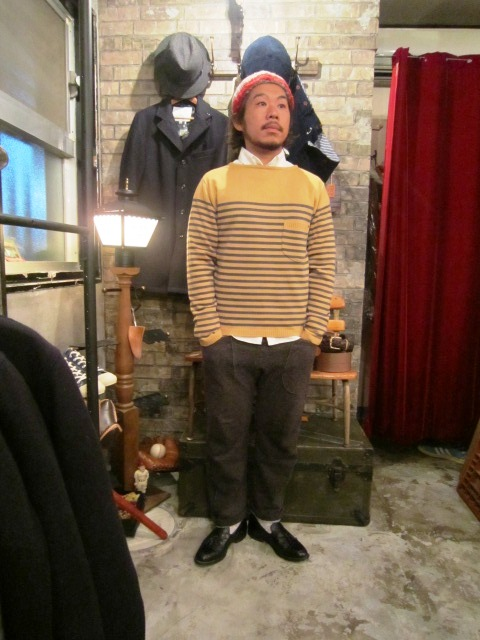"ANACHRONORM ""B.D Shirts & SWEATER\"" ご紹介_f0191324_12338100.jpg"
