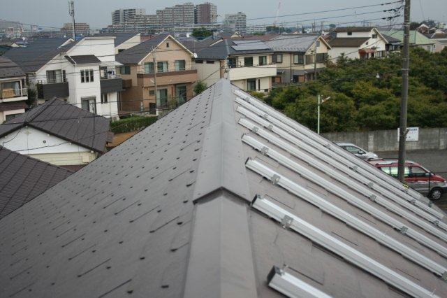 Panasonic太陽光発電とCORONAエコキュート 2(小平市)_e0207151_16312056.jpg
