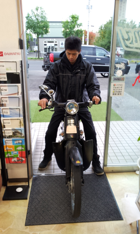 10月20日(土) 阿部ちゃんのニコニコブログ★_b0127002_1875985.jpg