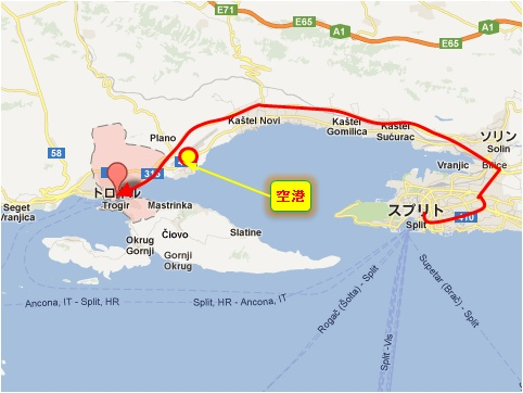 中欧家族旅行2012年08月-第五日目-クロアチア・トロギル散策_c0153302_1682538.jpg