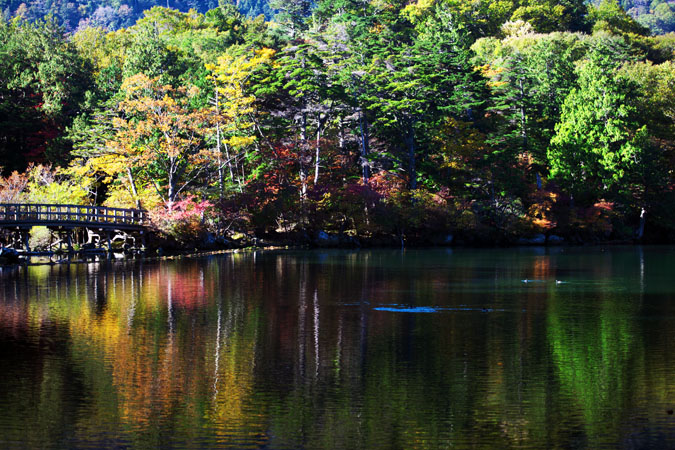 奥日光 湯ノ湖の紅葉1_a0263109_17572994.jpg