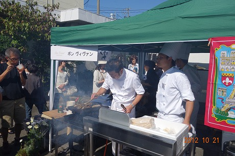 うましくに伊勢シェフクラブ主催 『饗宴(KYOUEN)2012』_a0152501_22461281.jpg