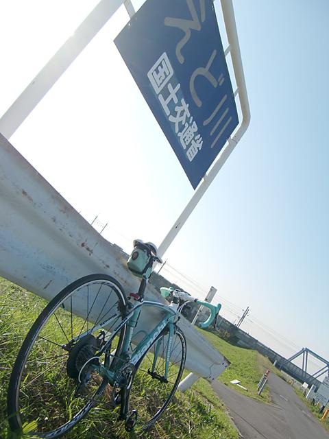 【チャリ】走る江戸川サイクリングロード_a0293131_1145145.jpg