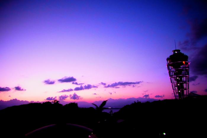 江ノ島サンセット_c0067646_196979.jpg