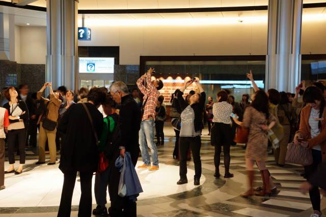 東京駅赤レンガ駅舎 ドーム_a0257652_17214924.jpg