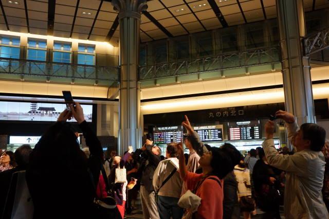 東京駅赤レンガ駅舎 ドーム_a0257652_17221740.jpg