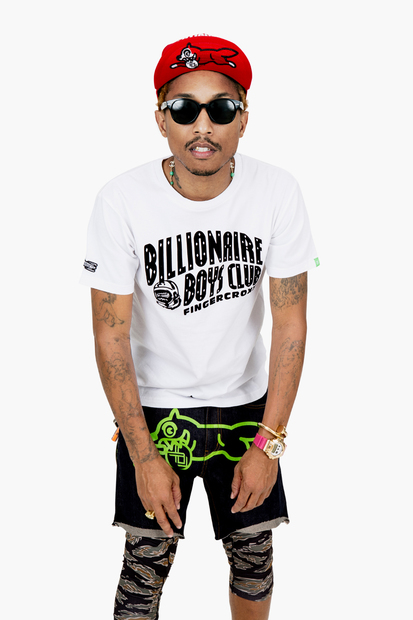 Billionaire Boys Club x Fingercroxx F/W 2012 10th Anniversary Lookbook featuring Pharrell Williams_a0118453_12205560.jpg
