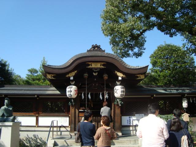 京都・一條戻橋「清明神社」へ行く。_f0232060_19441272.jpg