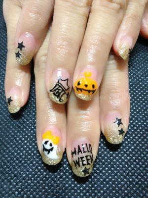 ハロウィン☆嵐nail_a0158476_18154310.jpg