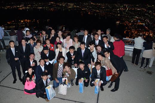 結婚式、披露宴、夜景からの塩ラーメン。_e0204105_12324946.jpg