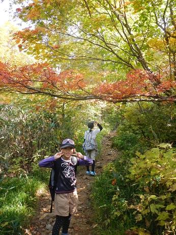 紅葉登山~念願の赤兎山①~_f0177714_2021630.jpg