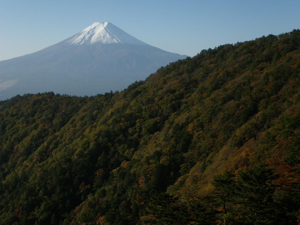 三ツ峠で岩トレ_b0133032_118535.jpg