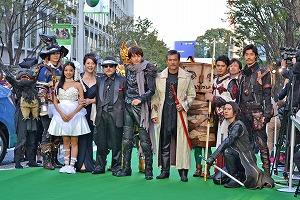 「牙狼 <GARO> ~蒼哭ノ魔竜~」の主要スタッフ&キャスト陣が、映画祭のグリーンカーペットに登場_e0025035_11142631.jpg