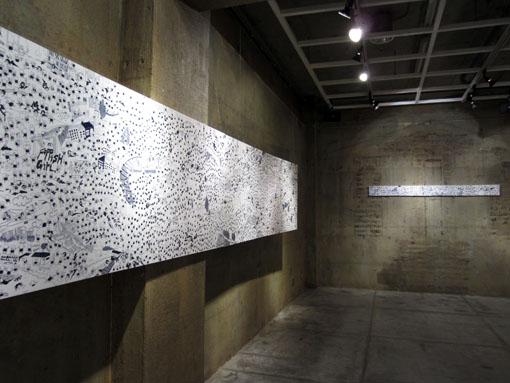 CHIE  Solo Exhibition始まりました。_c0096440_7135035.jpg